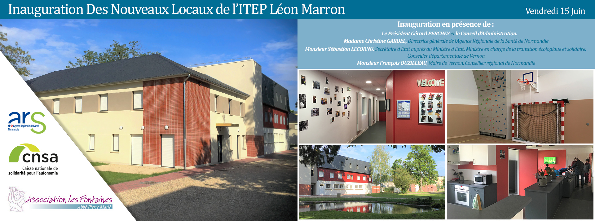 inauguration ITEP léon marron